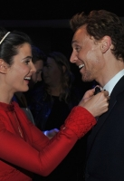 Cobie Smulders and Tom Hiddleston
