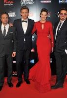 Chris Hemsworth, Mark Ruffalo, Tom Hiddleston, Cobie Smulders, Robert Downey Jr and Clark Gregg
