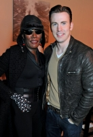 LONDON, ENGLAND - APRIL 30:  Grace Jones (L) and Chris Evans attend the Battersea Power Station Annual Party on April 30, 2014 in London, England.  (Photo by David M. Benett/Getty Images for Battersea Power Station)
