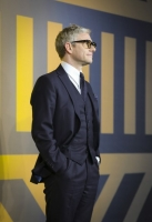 LONDON, ENGLAND - FEBRUARY 08: Martin Freeman attends the European Premiere of Marvel Studios'