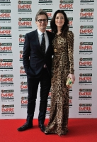 Gary Oldman and Alex Edenborough attend the 2012 Jameson Empire Awards
