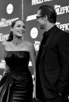 "(EDITORS NOTE: Image shot on black and white film. Color version not available.) attends the World Premiere of Disney's ""Maleficent"", starring Angelina Jolie, at the El Capitan Theatre on May 28, 2014 in Hollywood, California."
