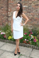 <<Actress and Gemfields brand ambassador, Mila Kunis, attends the launch of Gemfields Mozambican Rubies>> at The Orangery on June 23, 2015 in London, England.