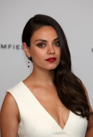 <<Actress and Gemfields brand ambassador, Mila Kunis, attends a photocall for the launch of Gemfields Mozambican rubies in London>> at Corinthia Hotel London on June 23, 2015 in London, England.