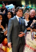 attend the UK Fan Screening of 'Mission: Impossible - Rogue Nation' at the IMAX Waterloo on July 25, 2015 in London, United Kingdom.