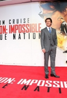 attends the UK Fan Screening of 'Mission: Impossible - Rogue Nation' at the IMAX Waterloo on July 25, 2015 in London, United Kingdom.