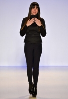 A model walks the runway at the Meskita fashion show during Mercedes-Benz Fashion Week Fall 2014 at The Salon at Lincoln Center on February 9, 2014 in New York City.