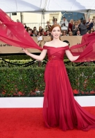LOS ANGELES, CA - JANUARY 29:  Actor Annalise Basso attends The 23rd Annual Screen Actors Guild Awards at The Shrine Auditorium on January 29, 2017 in Los Angeles, California. 26592_008  (Photo by Frazer Harrison/Getty Images)