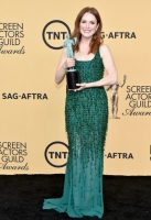 poses in the press room at TNT's 21st Annual Screen Actors Guild Awards at The Shrine Auditorium on January 25, 2015 in Los Angeles, California. 25184_018