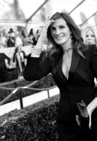 (EDITORS NOTE: THIS IMAGE WAS SHOT IN BLACK & WHITE) attends TNT's 21st Annual Screen Actors Guild Awards at The Shrine Auditorium on January 25, 2015 in Los Angeles, California. 25184_023