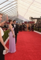 attends TNT's 21st Annual Screen Actors Guild Awards at The Shrine Auditorium on January 25, 2015 in Los Angeles, California. 25184_022