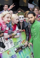 Jared Leto attends the European Premiere of 'Suicide Squad' at London's Leicester Square. 3 August 2016