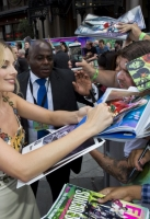 Margot Robbie attends the European Premiere of 'Suicide Squad' at London's Leicester Square. 3 August 2016