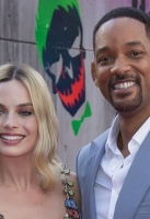 Will Smith and Margot Robbie attend the European Premiere of 'Suicide Squad' at London's Leicester Square. 3 August 2016