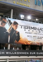 attends the European Premiere of 'Terminator Genisys' at the CineStar Sony Center on June 21, 2015 in Berlin, Germany.
