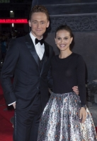 Actors Tom Hiddleston and Natalie Portman at the Global Premiere for thor the dark world