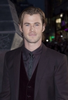 Actor Chris Hemsworth at the Global Premiere for thor the dark world