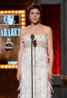 speaks onstage during the 68th Annual Tony Awards at Radio City Music Hall on June 8, 2014 in New York City.