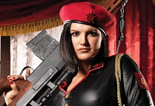 gina carano expendables female