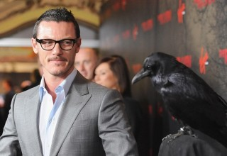 luke evans the crow
