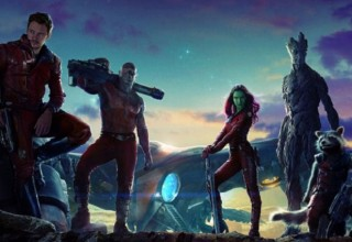 guardians of the galaxy poster shot news