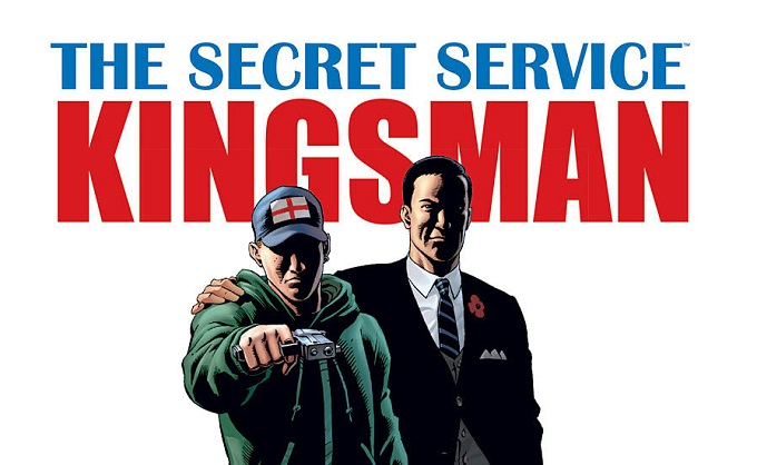 The secret service comic movie