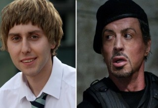 the inbetweeners 2 vs the expendales 3 box office