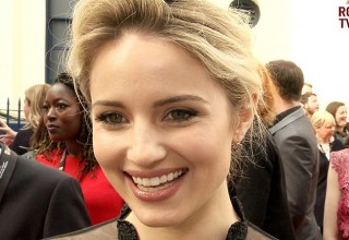 dianna agron bafta tv awards 2015