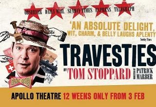 travesties apollo theatre