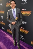 attends the Los Angeles Global Premiere for Marvel Studios' Avengers: Infinity War on April 23, 2018 in Hollywood, California.