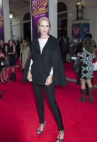Uma Thurman arrives at the Charlie and The Chocolate Factory Opening night, at the Theatre Royal, Drury Lane - London