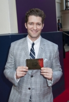 Matthew Morrison arrives at the Charlie and The Chocolate Factory Opening night, at the Theatre Royal, Drury Lane - London