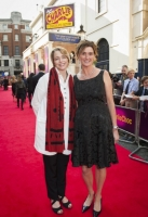 Ophelia and Lucy Dahl arrive at the Charlie and The Chocolate Factory Opening night, at the Theatre Royal, Drury Lane - London