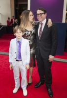 Sarah Jessica Parker and Mathew Broderick and son arrive at the Charlie and The Chocolate Factory Opening night, at the Theatre Royal, Drury Lane - London