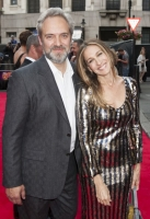 Sam Mendes and Sarah Jessica Parker arrive at the Charlie and The Chocolate Factory Opening night, at the Theatre Royal, Drury Lane - London