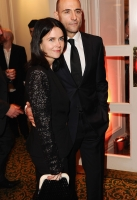 Liza Marshall and Mark Strong during the 2012 Jameson Empire Awards