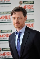 Actor James McAvoy attends the 2012 Jameson Empire Awards