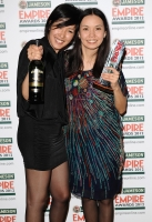 Indira Suleimenova (R) during the 2012 Jameson Empire Awards